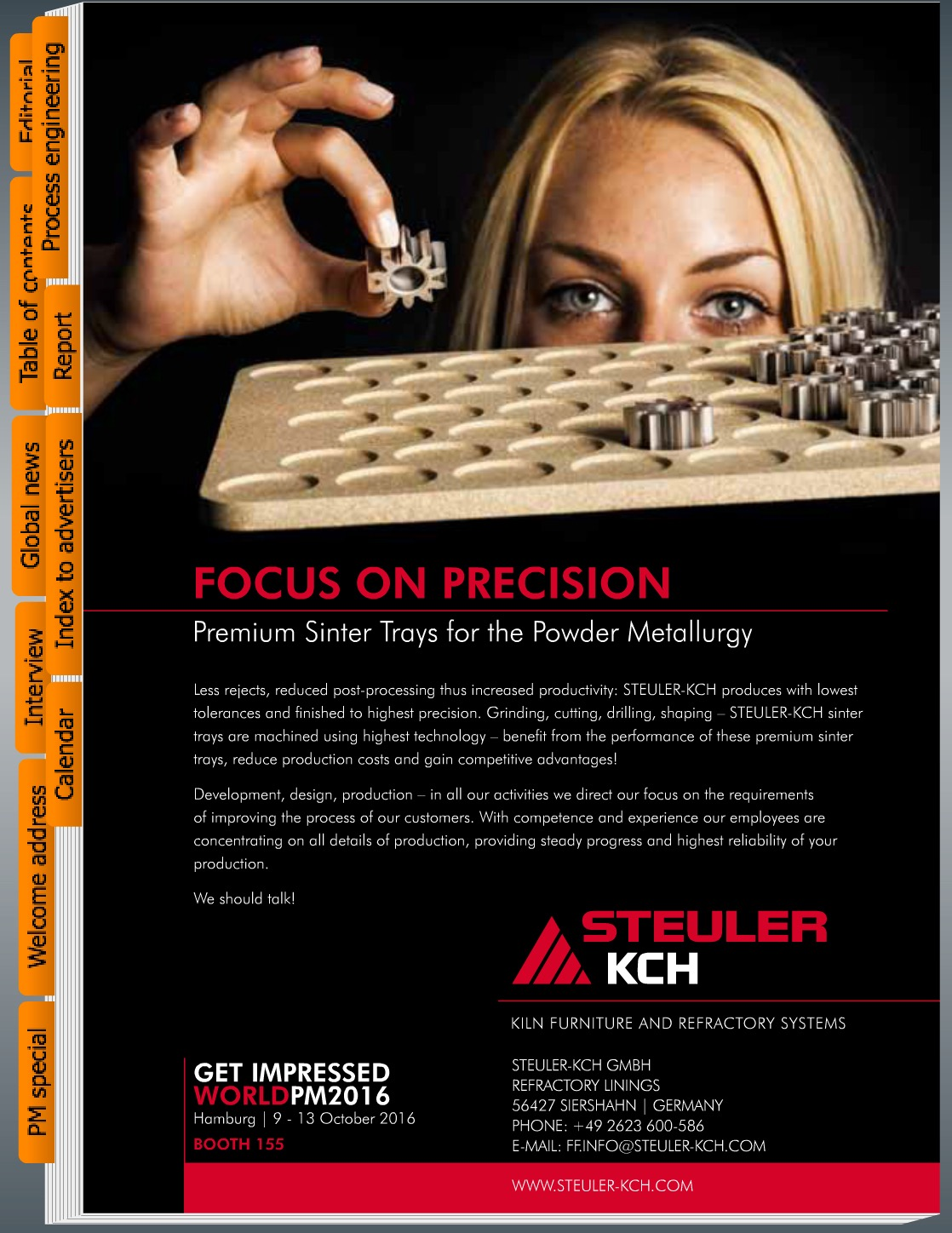 "CFI ""Focus On Precision"" Ceramic Forum International ""Focus On Precision"" Jennifer Wolf Industriefotografie Hennef Köln Bonn"