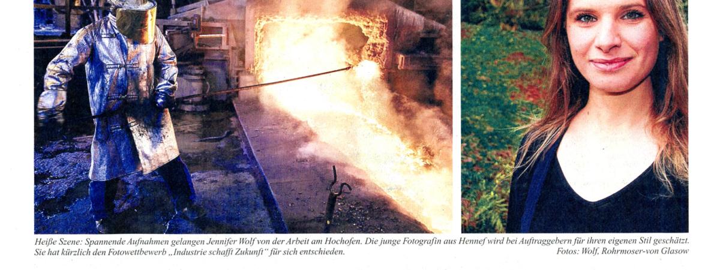 Artikel über Jennifer Wolf im Kölner Stadtanzeiger