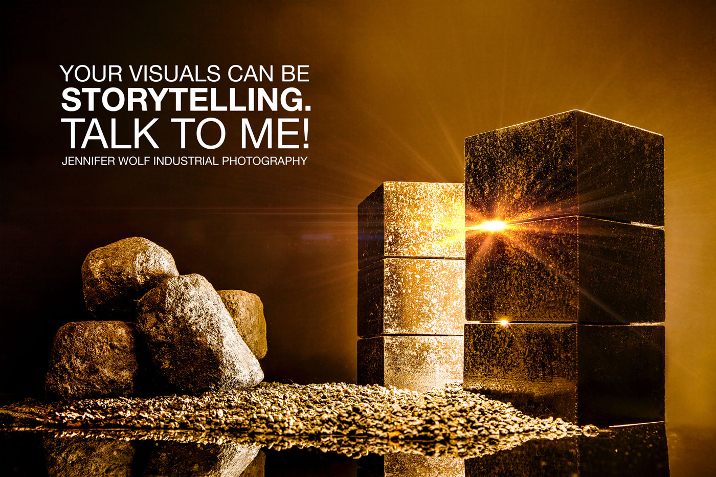 Your visuals can be storytelling.